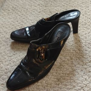 BRIGHTON made in Italy open heel shoes 8.5M